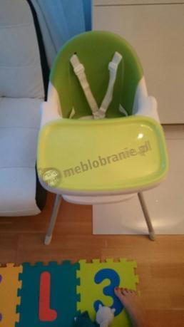 Zielone krzesełko do karmienia Keter Multidine