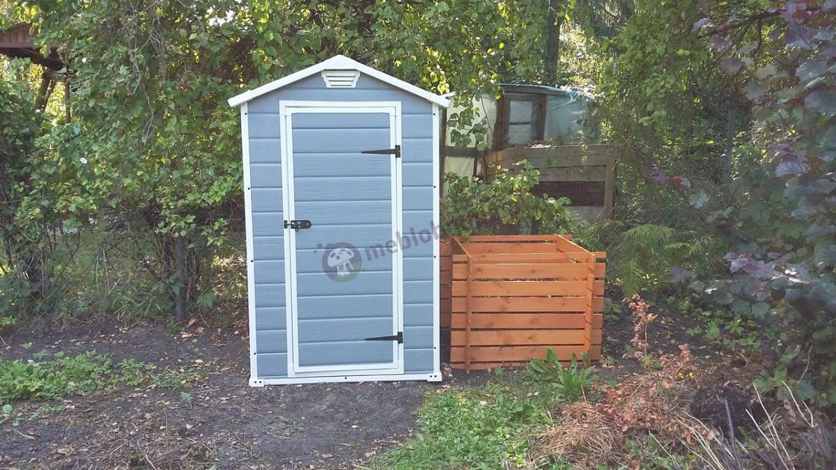 Małe domki ogrodowe na działkę Keter Manor 4x3