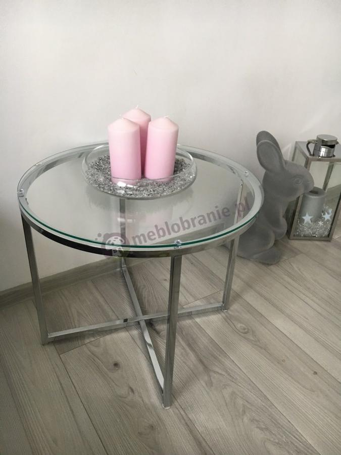 Mały okrągły stolik kawowy Actona Cross III