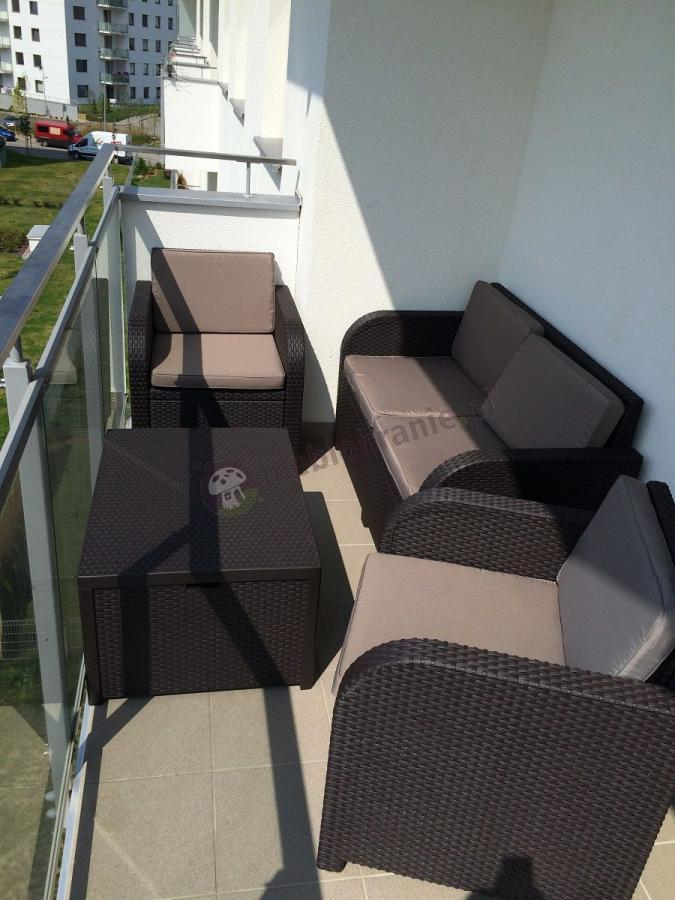 Meble na balkon Modena Lounge Set