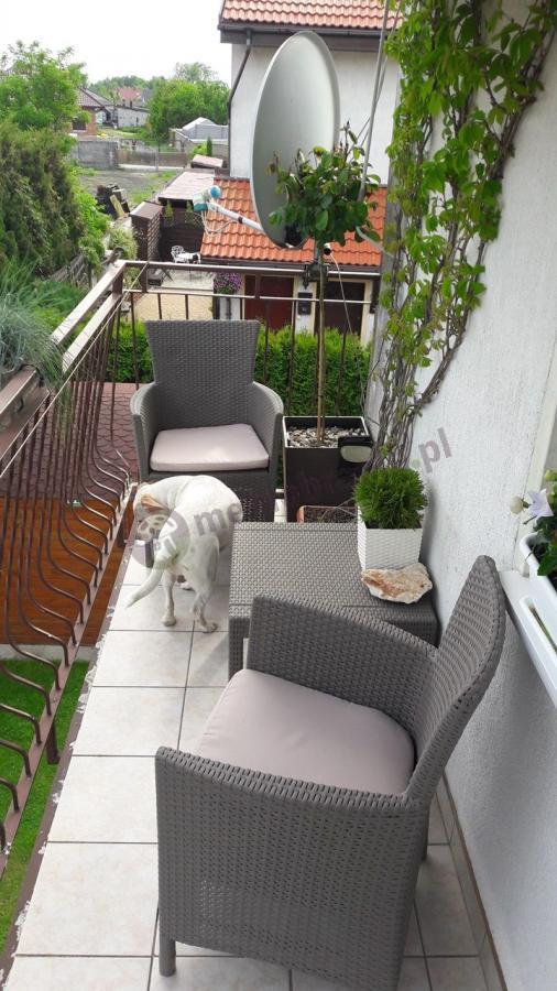 Meble na balkony Rosario Set z wygodnymi fotelami