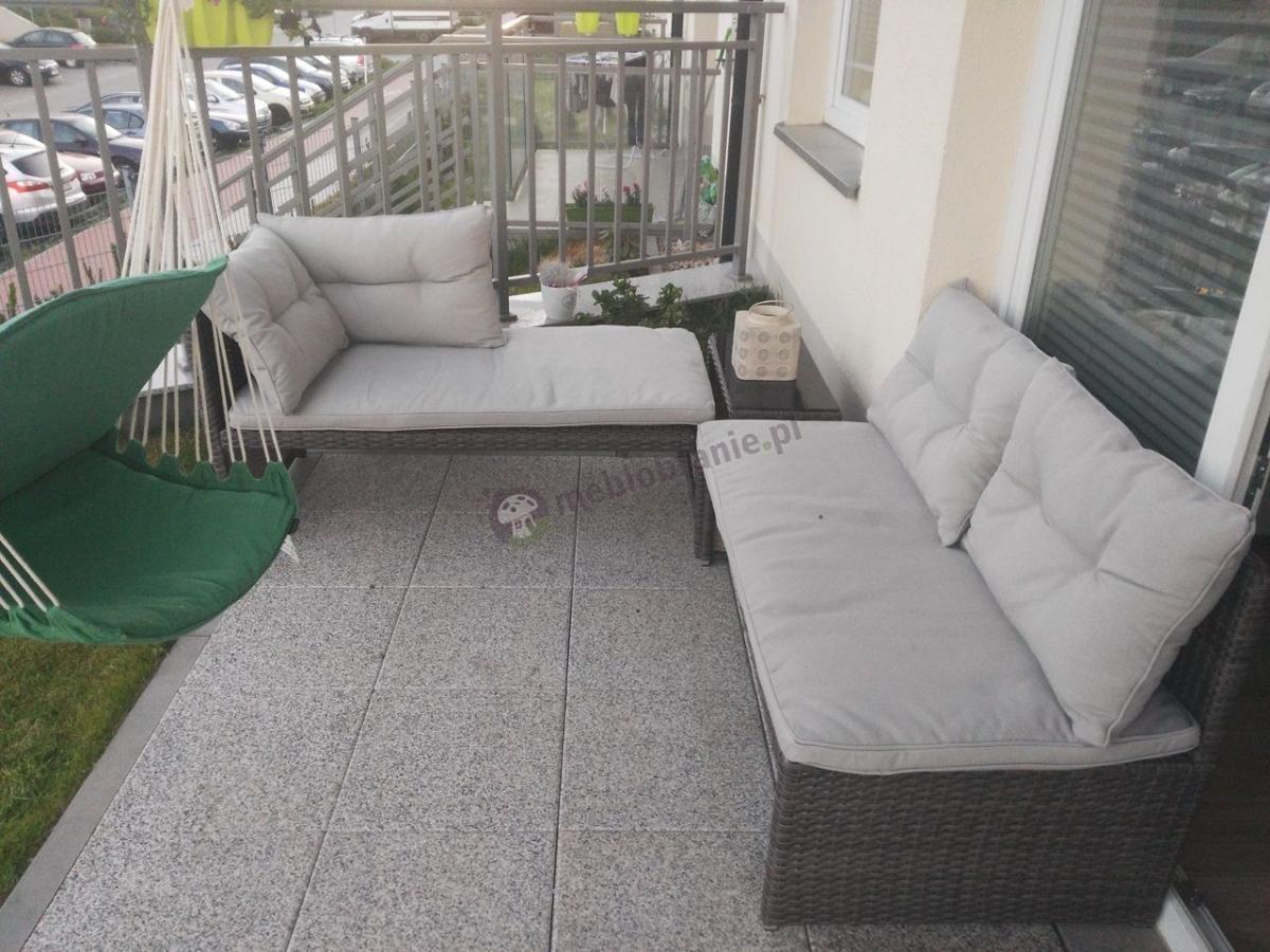 meble na w ski balkon naro nik z technorattanu canvas aran acje. Black Bedroom Furniture Sets. Home Design Ideas