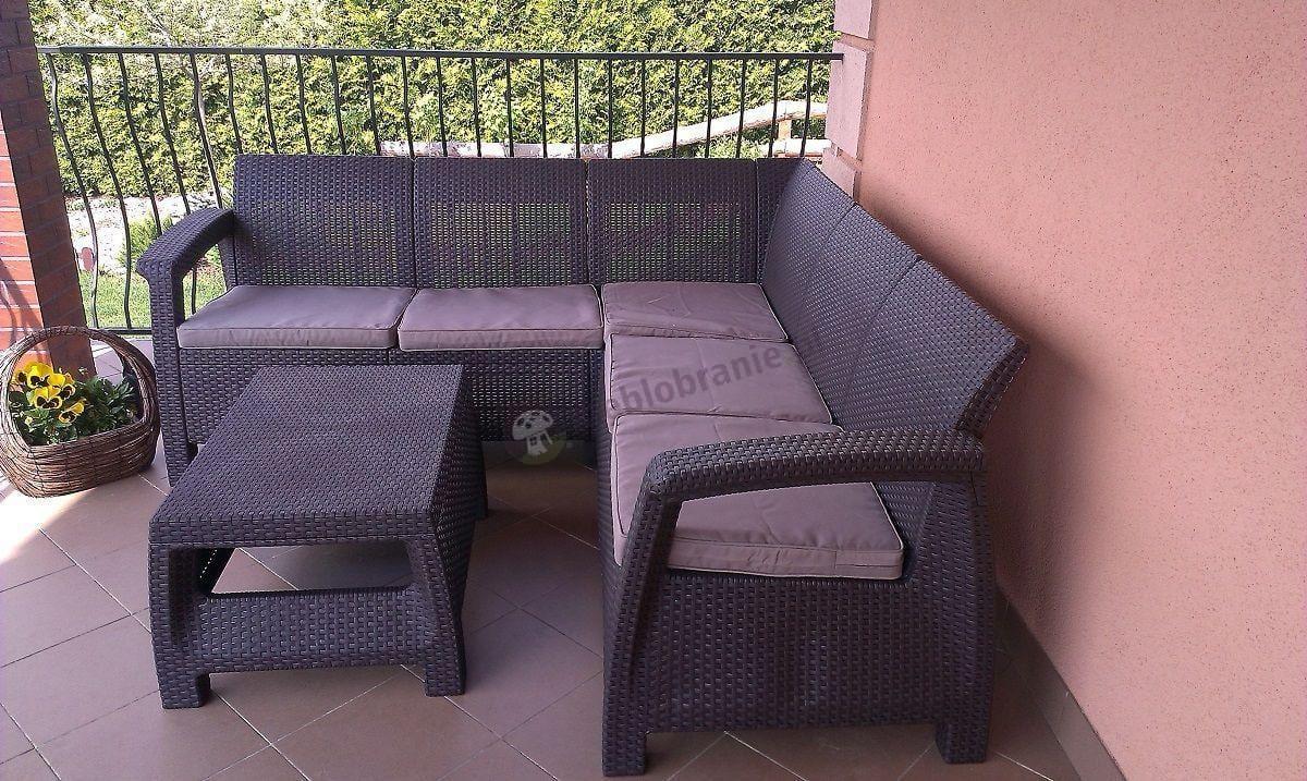 Meble ogrodowe zestaw Corfu Relax Set