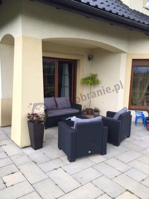 Meble Rattan Style z sofą dwuosobową Corfu California 2 Seater