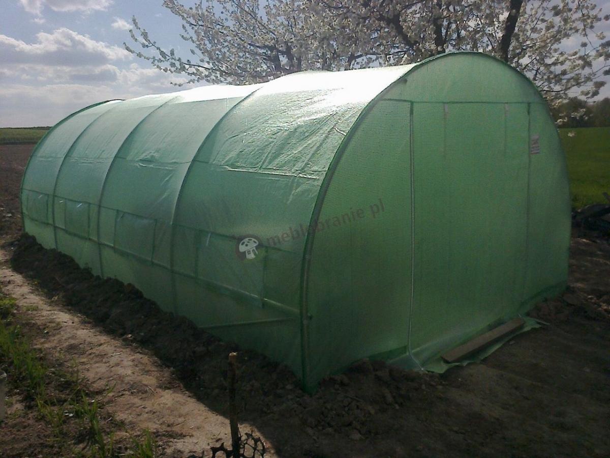 Metalowy namiot foliowy pod warzywa do hodowania sadzonek