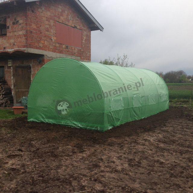 Metalowy namiot foliowy pod warzywa do ochrony sadzonek