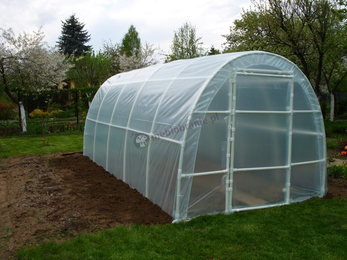 Namiot Foliowy Lemar 5x2,2m gotowy na pierwsze uprawy