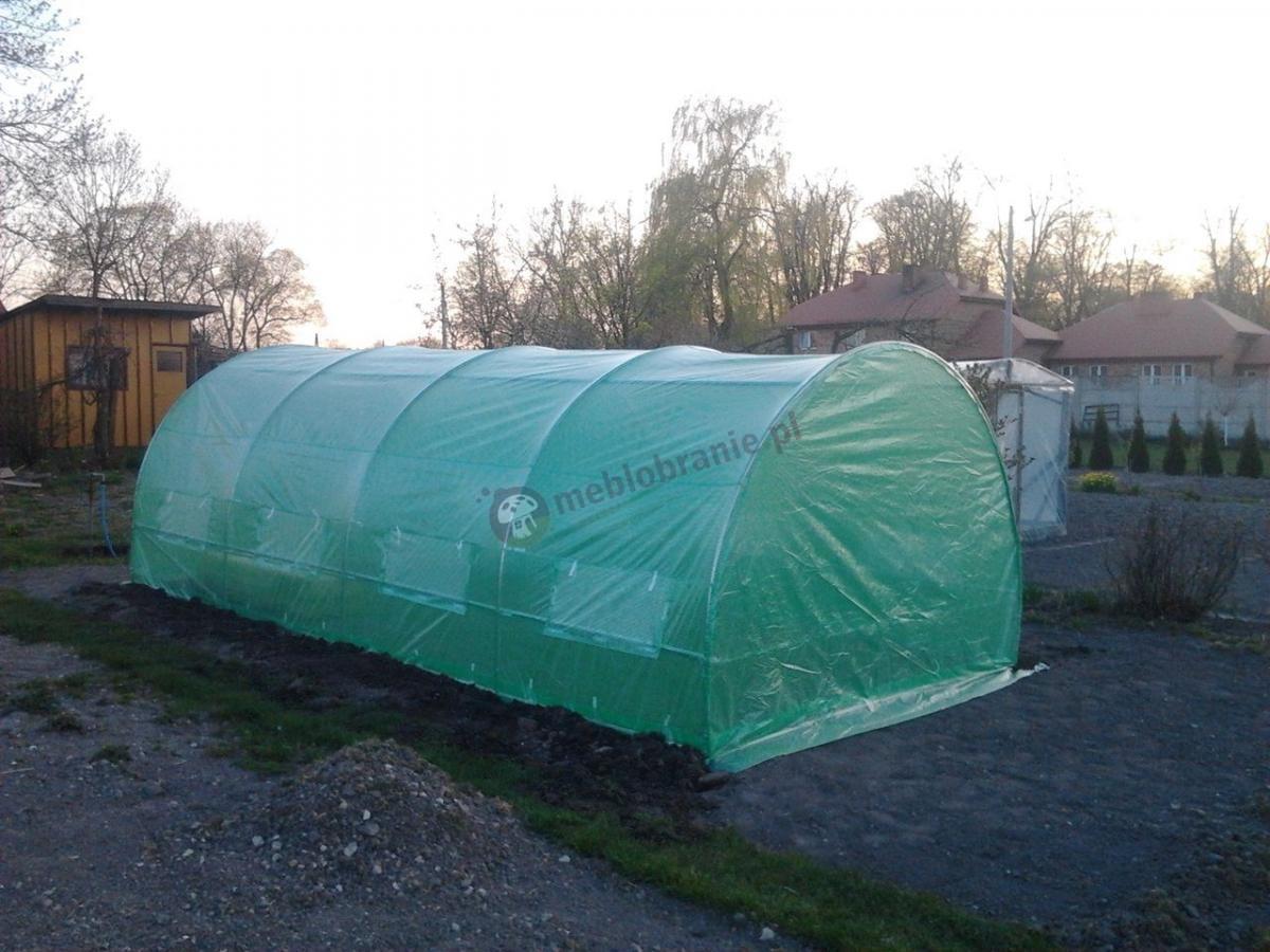 Namiot ogrodniczy z metalowym stelażem o wymiarach 6x3m