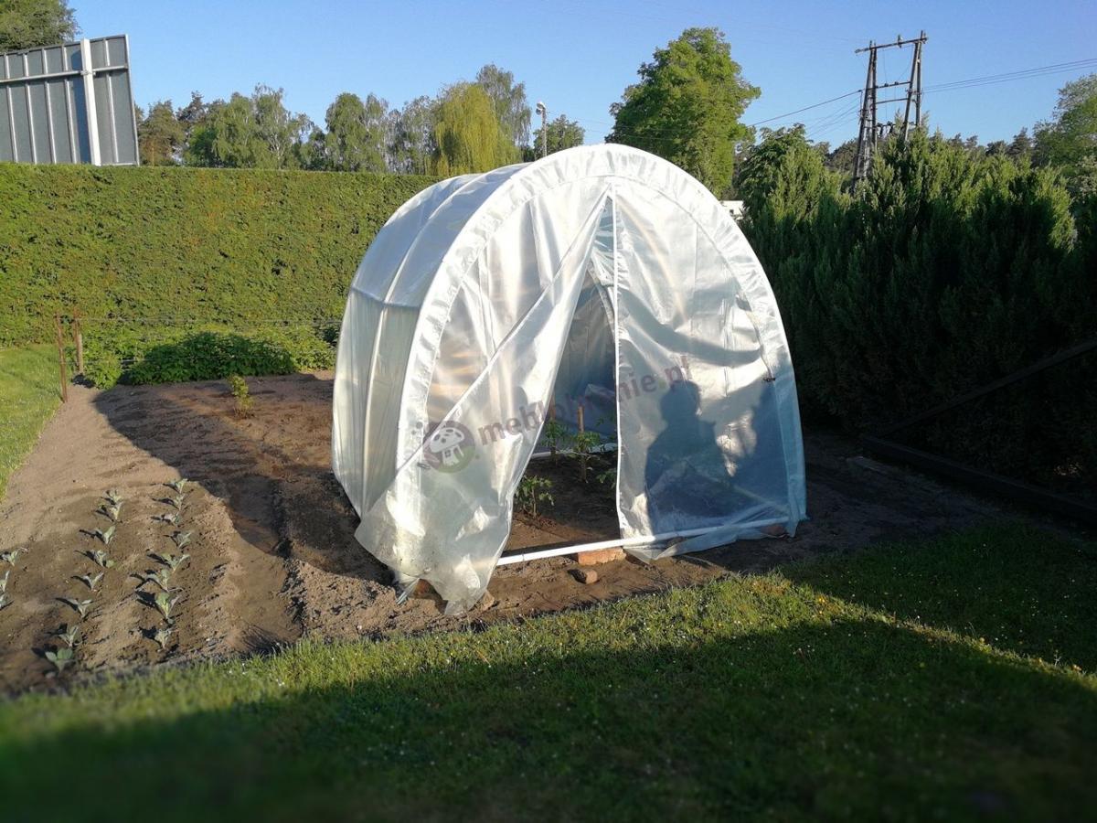 Namioty foliowe ogrodnicze do ochrony amatorskich upraw warzyw