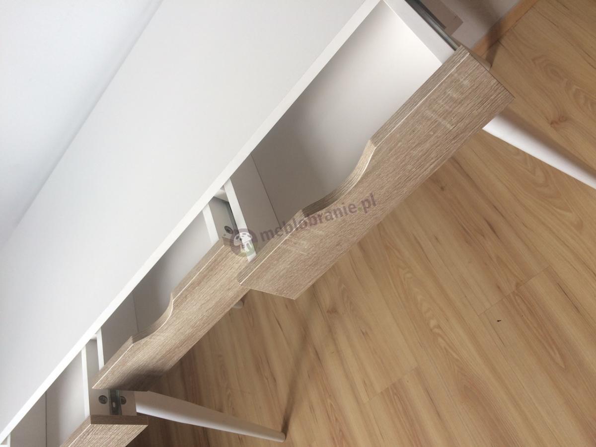 Neptun skandynawskie biurko drewniane