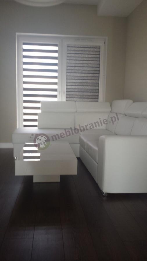 Nowoczesne ławy do salonu lakierowane na wysoki połysk