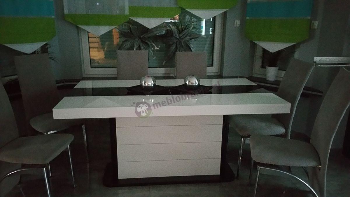 Nowoczesny stół do jadani rozkładany Pianosa