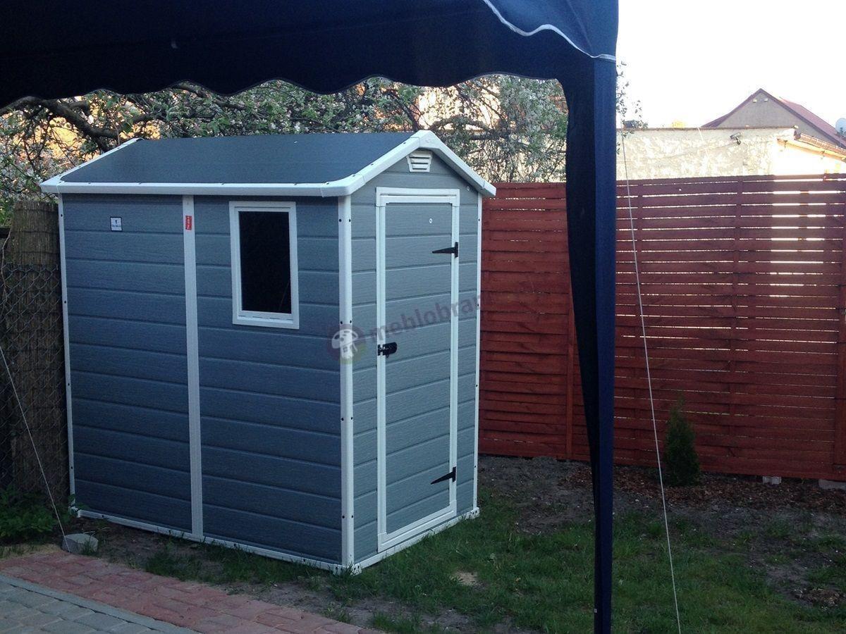 Ogrodowy domek w niskiej cenie - domek narzędziowy z tworzywa Keter