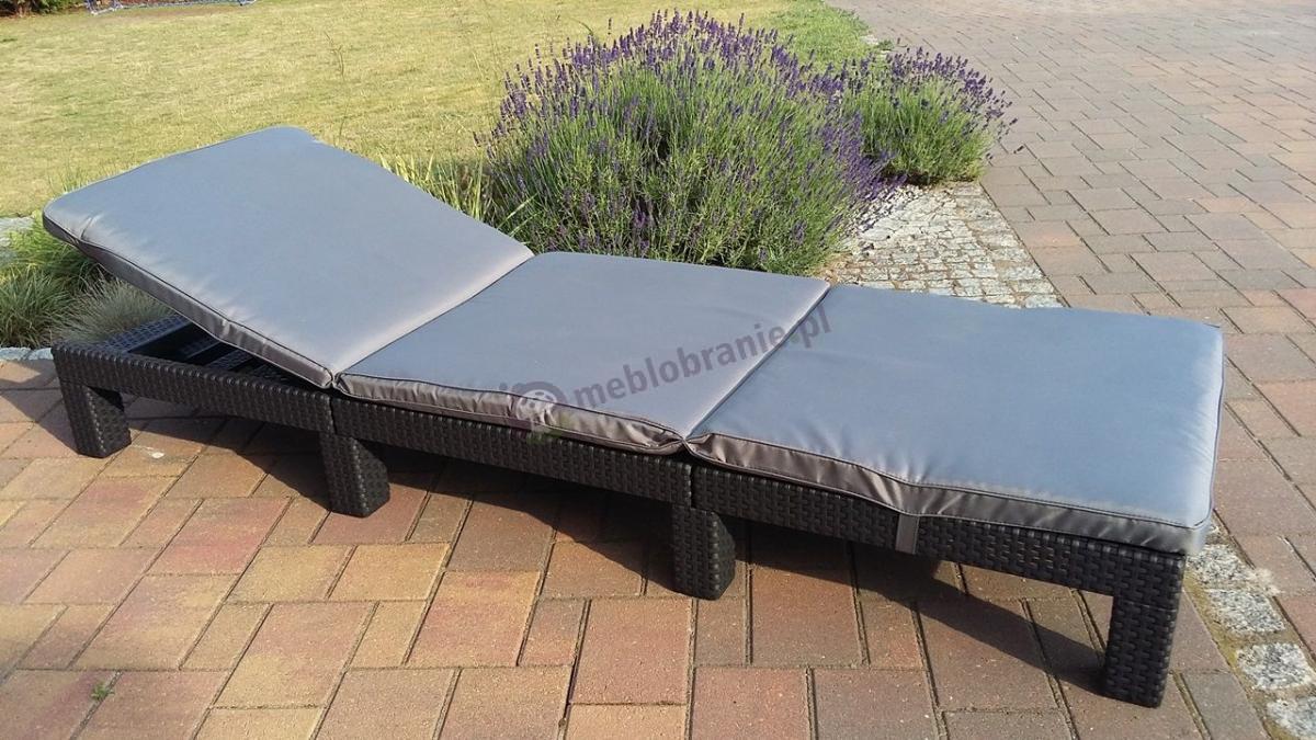 Ogrodowy leżak w niskiej cenie firmy Keter Allibert Daytona