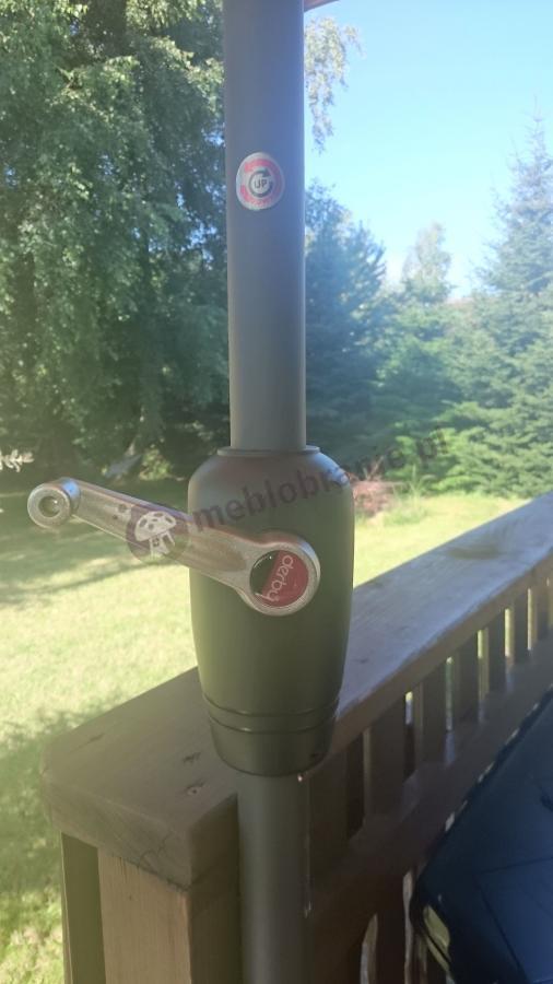 Parasol ogrodowy na korbkę Doppler Basic Lift II