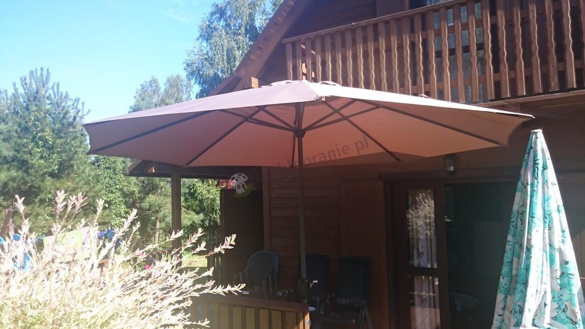 Parasol ogrodowy w dobrej cenie z korbką Doppler Basic Lift II