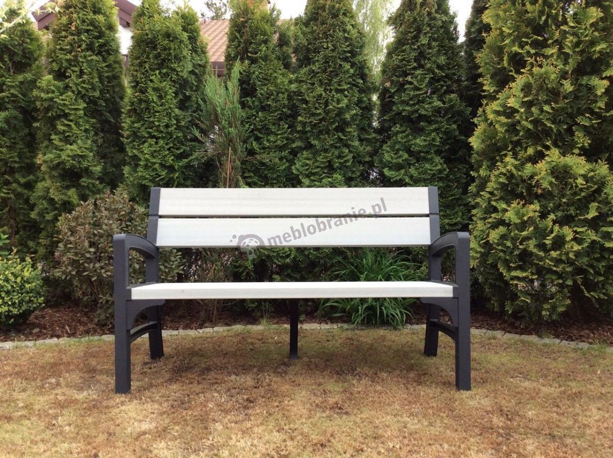 Plastikowa ławka ogrodowa Keter Montero dla 3 osób