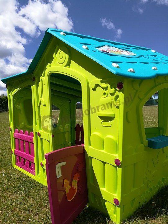 Plastikowy bezpieczny domek dla dziecka Keter Magic Villa