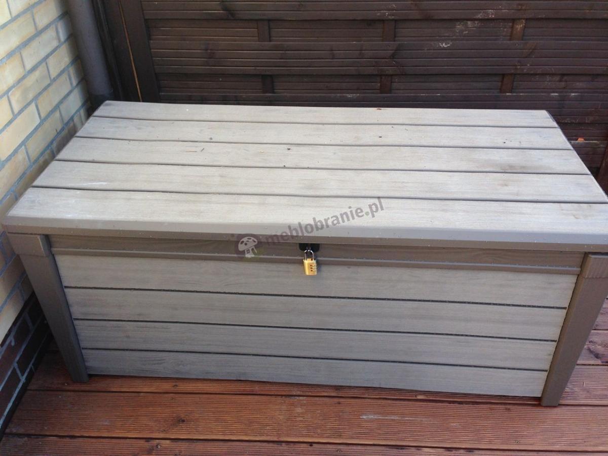 Pojemna skrzynia na taras Keter Brushwood Storage Box 455L