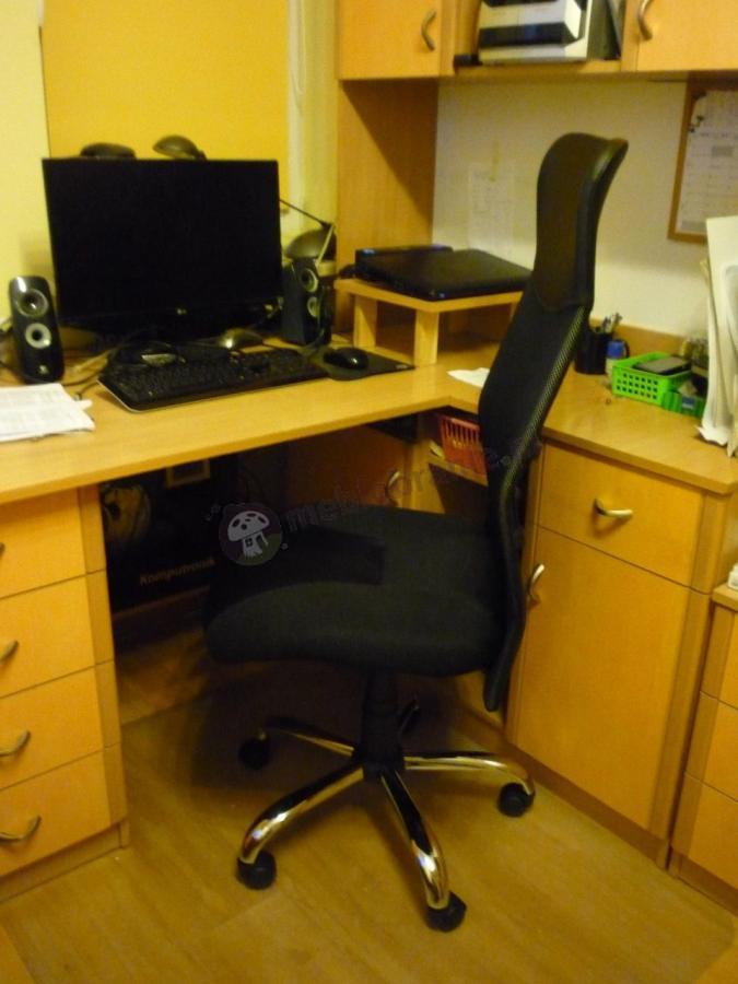 Popularne krzesło obrotowe fotel z mechanizmem tilt Hit Nowy Styl
