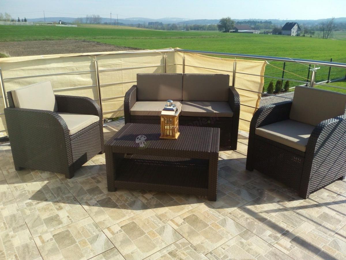Popularne meble ogrodowe Allibert Modena Lounge Set