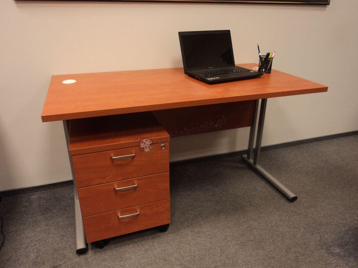 Praktyczne meble biurowe Svenbox w odcieniu calvados