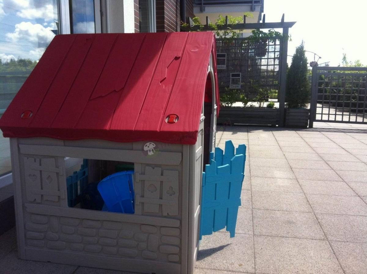 Przenośny domek składany dla dzieci Keter Foldable Pleyhouse