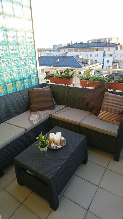 Rogówka tarasowa z tworzywa Curver Corfu Relax Set