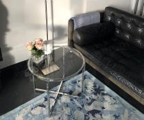 Actona Cross stoliki szklane nowoczesne do salonu