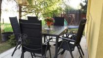 Aluminiowe meble stołowe do ogrodu dla 6 Sydney Anthracite