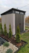 Aranżacja: Domek narzędziowy Keter Artisan 7x7 ogrodowy (4,6m2)