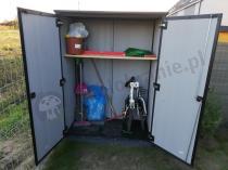 Aranżacja: Keter High Store Patio szafa narzędziowa ogrodowa