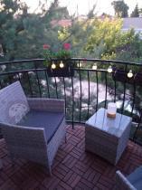 Aranżacja: Meble balkonowe z technorattanu Flavio Duo Grey