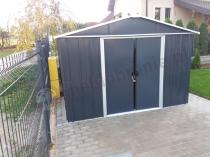 Aranżacja: Yardmaster 1013 AEYZ Schowek ogrodowy na rowery 3x4 Anthracite (12m2)