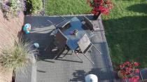 Aranżacja: Zestaw obiadowy technorattan Lautaro Double Brown 4+1