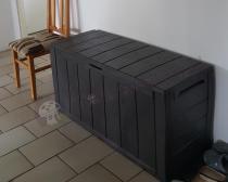 Bardzo tania skrzynia na poduszki na balkon Keter Sherwood Box