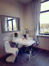 Biurko nowoczesne białe Zefir