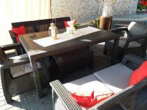Corfu Set Triple Max Curver nowoczesne meble na taras