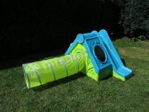 Domek ogrodowy dla dzieci Funtivity Playhouse Keter zielono-niebieski