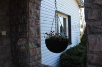 Doniczka wisząca balkonowa Keter Hanging Sphere Planter