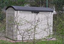 Duża szafa ogrodowa na akcesoria ogrodowe Keter Store-It-Out Ultra