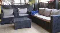 Ekskluzywne meble z tworzywa sztucznego Keter California 3 Seater