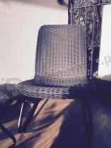 Fotel balkonowy rattan efekt z zestawu Rio Patio Keter