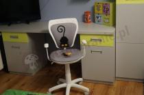 Fotel dla dziecka Ministyle White kot i mysz