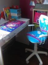 Fotel do pokoju dziecinnego Ministyle White Pony