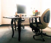 Fotel obrotowy OVO z mechanizmem Synchron