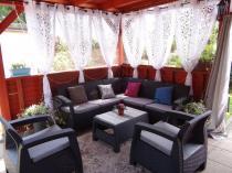 Komplet narożnik plus dwa fotele i stolika kawowy Corfu Relax Duo