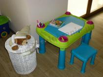 Kreatywna zabawka dla dzieci stolik do rysowania