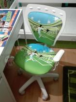 Krzesełko dla dzieci Ministyle White La Liga piłkarskie