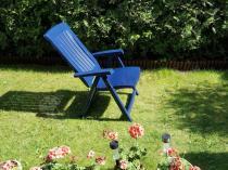 Krzesła ogrodowe plastikowe składane z regulowanym oparciem